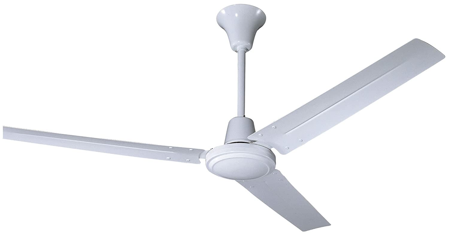 hardware house caribbean 56inch industrial ceiling fan gloss white amazoncom