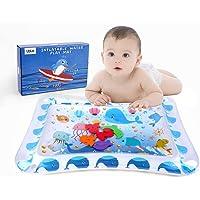 LBLA Alfombra Inflable con Agua, Cojín de Agua Inflable para Bebé, Centro de Actividades Divertidaspara La Estimulación del Crecimiento de Su Bebé