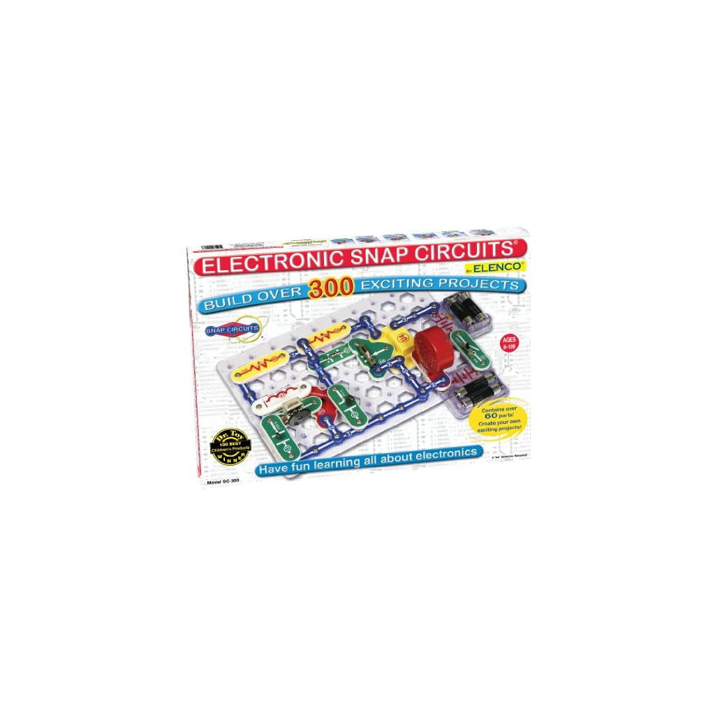 Moms And Kids Electronics Learning Circuits Hall Of Toys Snap Classic Sc 300 Exploration Kit Over Stem Projects 4 Color Project Manual