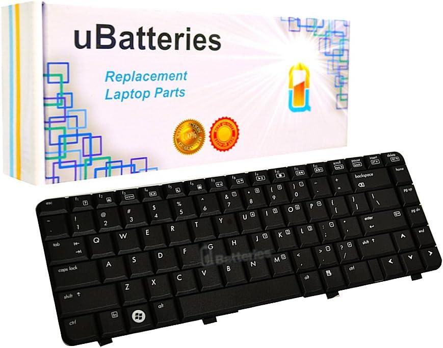 UBatteries Compatible Laptop Keyboard Replacement for HP Pavilion DV4 DV4-1000 DV4-2000 DV4T DV4T-1000 495646-001 508119-001 538108-001 LKB-HC09B - (Black)