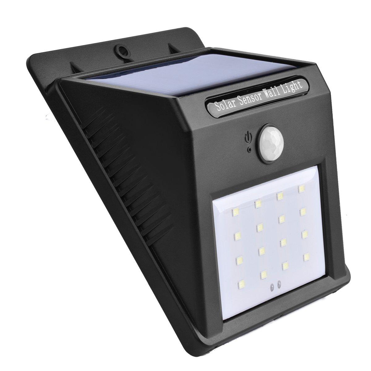 Zehui 16 LED屋外ソーラーPowerdワイヤレス防水セキュリティモーションセンサーライトソーラーライト 4pcs mhy-CH0126-jj53 B079C3FRLP  4pcs