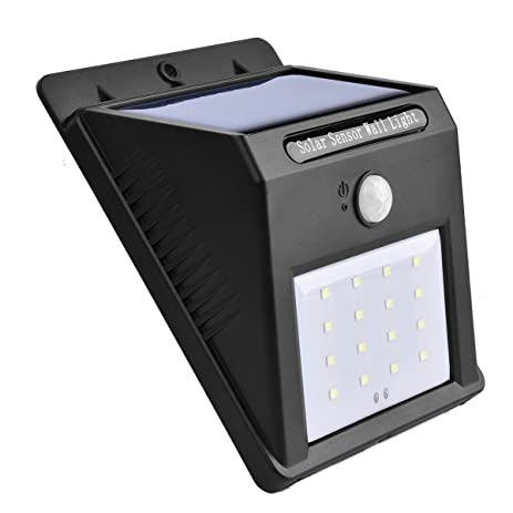 doingart solar lights outdoor 16led solar motion light sensor detector solar patio lights