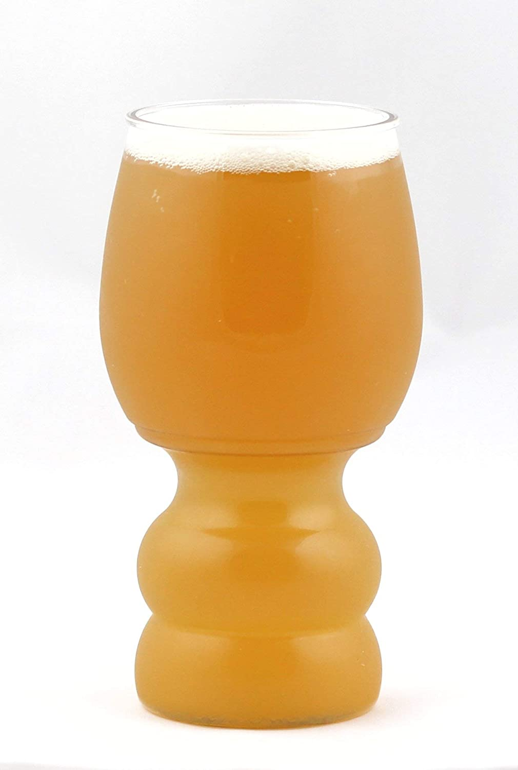 B Cups® IPA Glass - 17oz Outdoor Craft Beer Cups, 4-Piece BPA & BPS Free Fermented Reality BCUPIPA