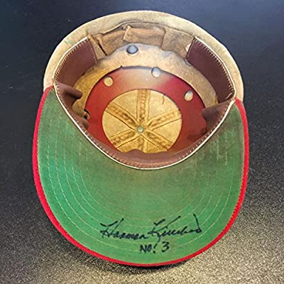1950's Harmon Killebrew Signed Vintage Minnesota Twins Hat Cap PSA DNA COA