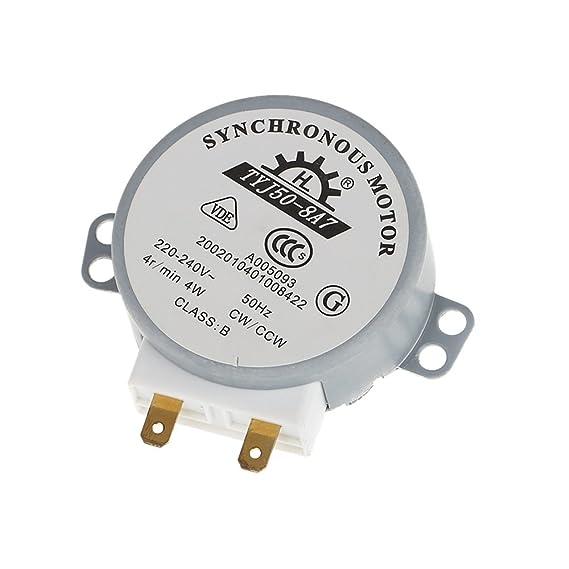 KKmoon Placa giratoria giro mesa Motor síncrono para microondas AC ...