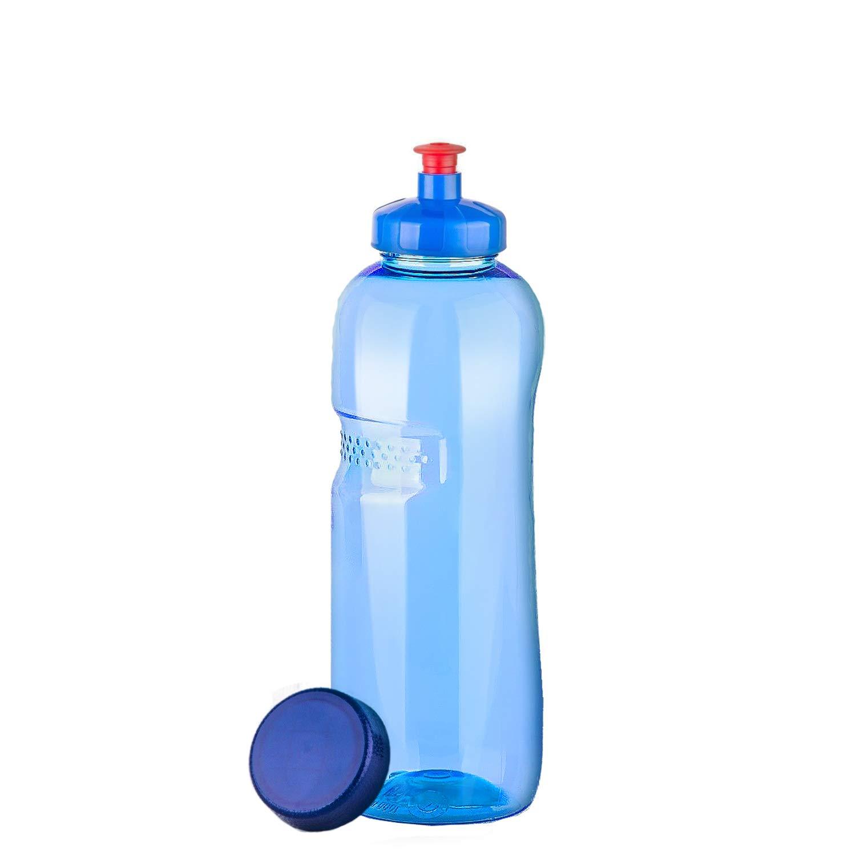 Trinkflasche 0, 75 l Wasserflasche aus Tritan (Bisphenol A frei) + Push-Pull Deckel