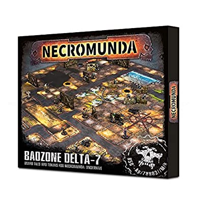 Necromunda: Underhive Badzone Delta-7 from Games Workshop