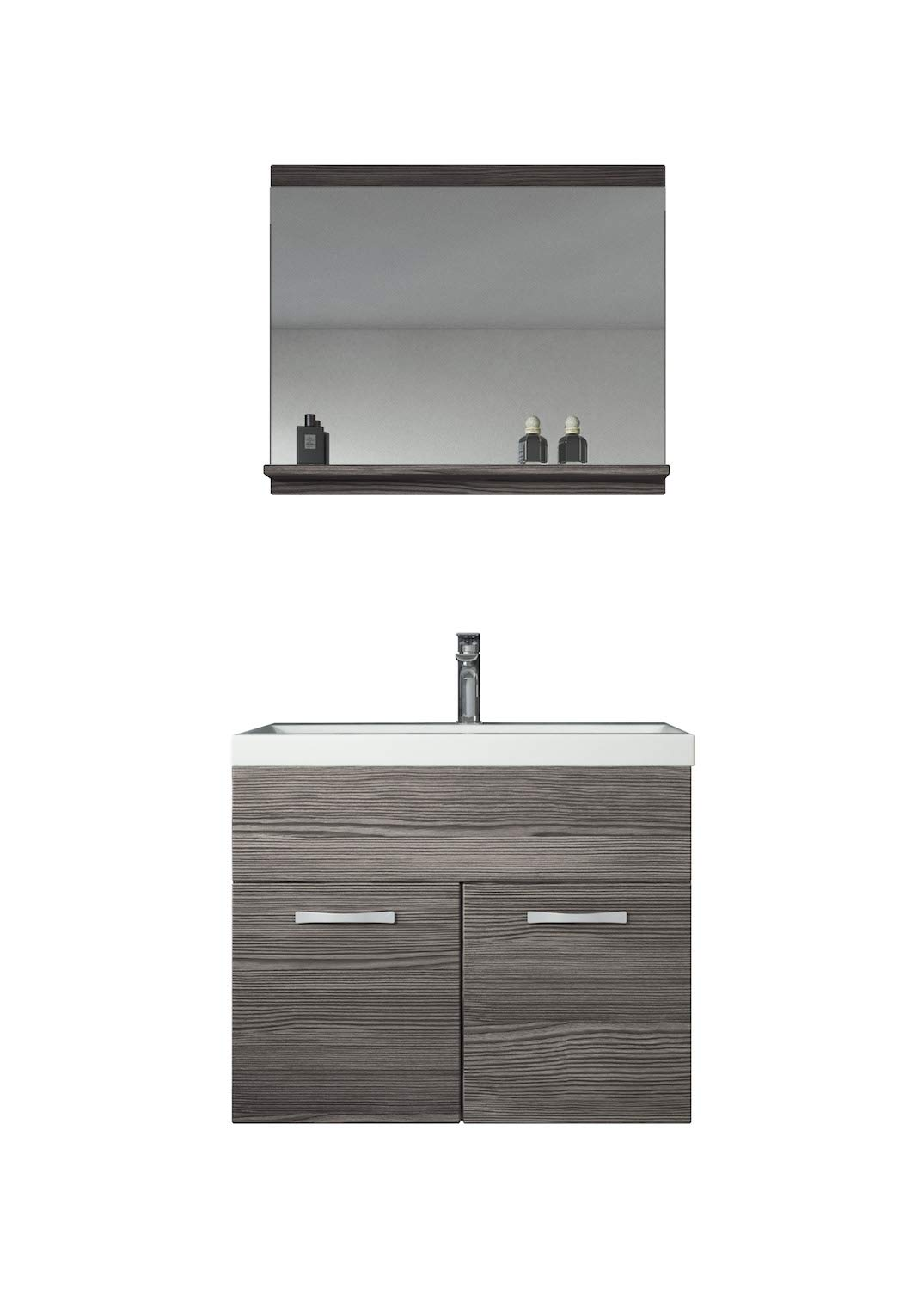 Bathroom furniture set Montreal 02 60cm basin Bodega - Storage cabinet vanity unit sink furniture Badplaats