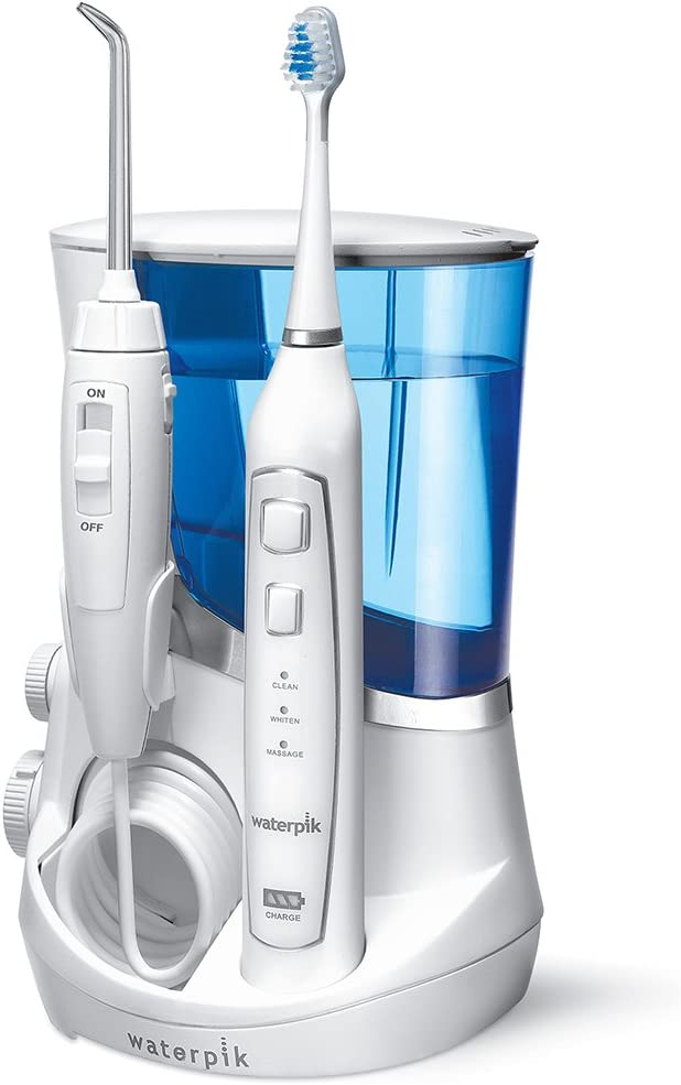 Waterpik - Irrigador dental Waterpik con cepillo de dientes ultrasónico: Amazon.es: Salud y cuidado personal