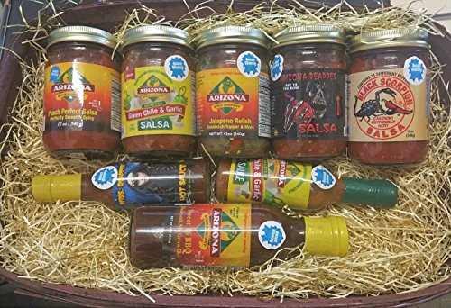 Arizonas Best Award Winning Sauces Basket