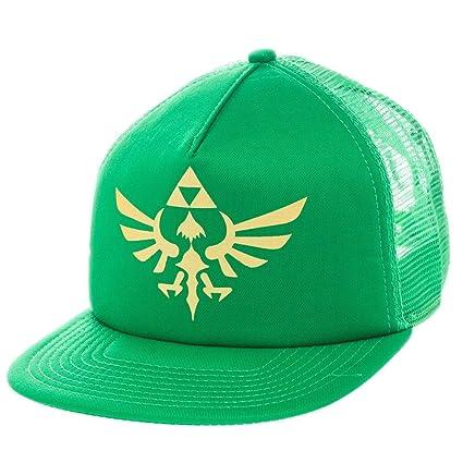 Amazon.com: Bioworld Nintendo Zelda Trucker sombrero gorra ...