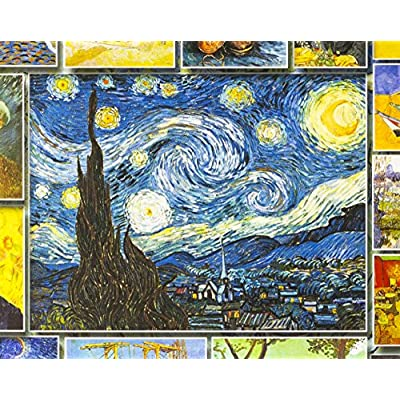 White Mountain Puzzles Great Painters Collection - Vincent Van Gogh - 1,000 Piece Jigsaw Puzzle: Toys & Games