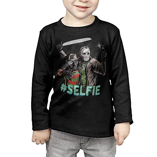 Amazoncom Kids Freddy Krueger Vs Jason 13th Friday Selfie Long