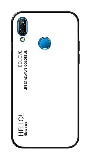 new arrivals c2e3c 4194e Amazon.com: Huawei Nova 3i Case,DAMONDY Glitter Gradient Shockproof ...
