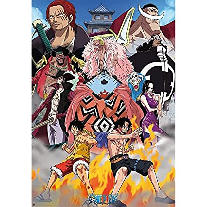 Amazon com: AbyStyle ONE Piece Poster Marine Ford (98x68): Posters