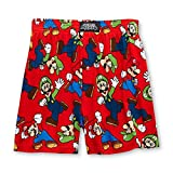 (US) Super Mario and Luigi Mens Boxer Shorts (Teen/Adult)