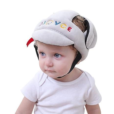 7b59edfbfce Sonolife - Casco Protector para Bebé Acolchonado Contra Golpes y Caídas   Amazon.com.mx  Bebé