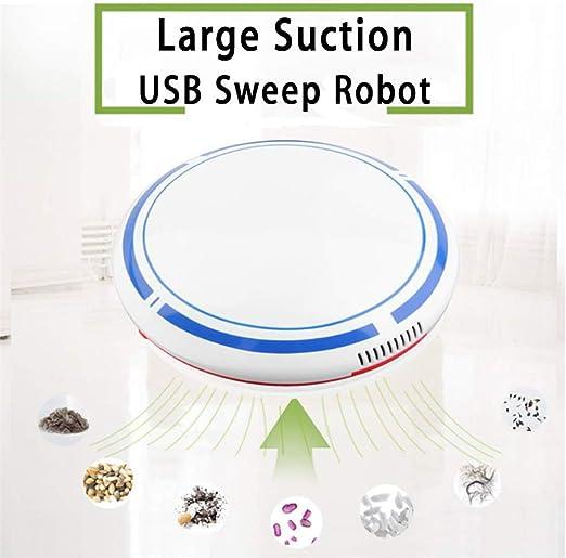 WSN Robot Aspirador,con aspiradora robótica autocargante Cuidado del Cabello para Mascotas Succión Potente Sujetador USB de diseño Delgado sin enredos Buena para Suelos Duros y alfombras de Pelo bajo: Amazon.es: Hogar