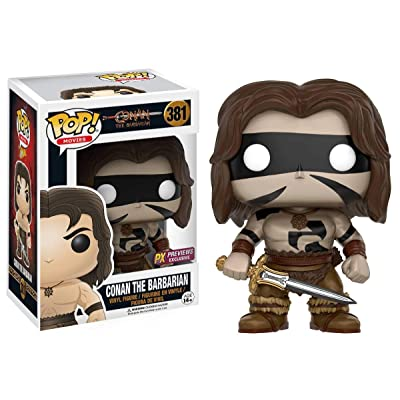Funko Pop! Conan The Barbarian (War Paint Version) Vinyl Figure Vinyl Figure: Toys & Games