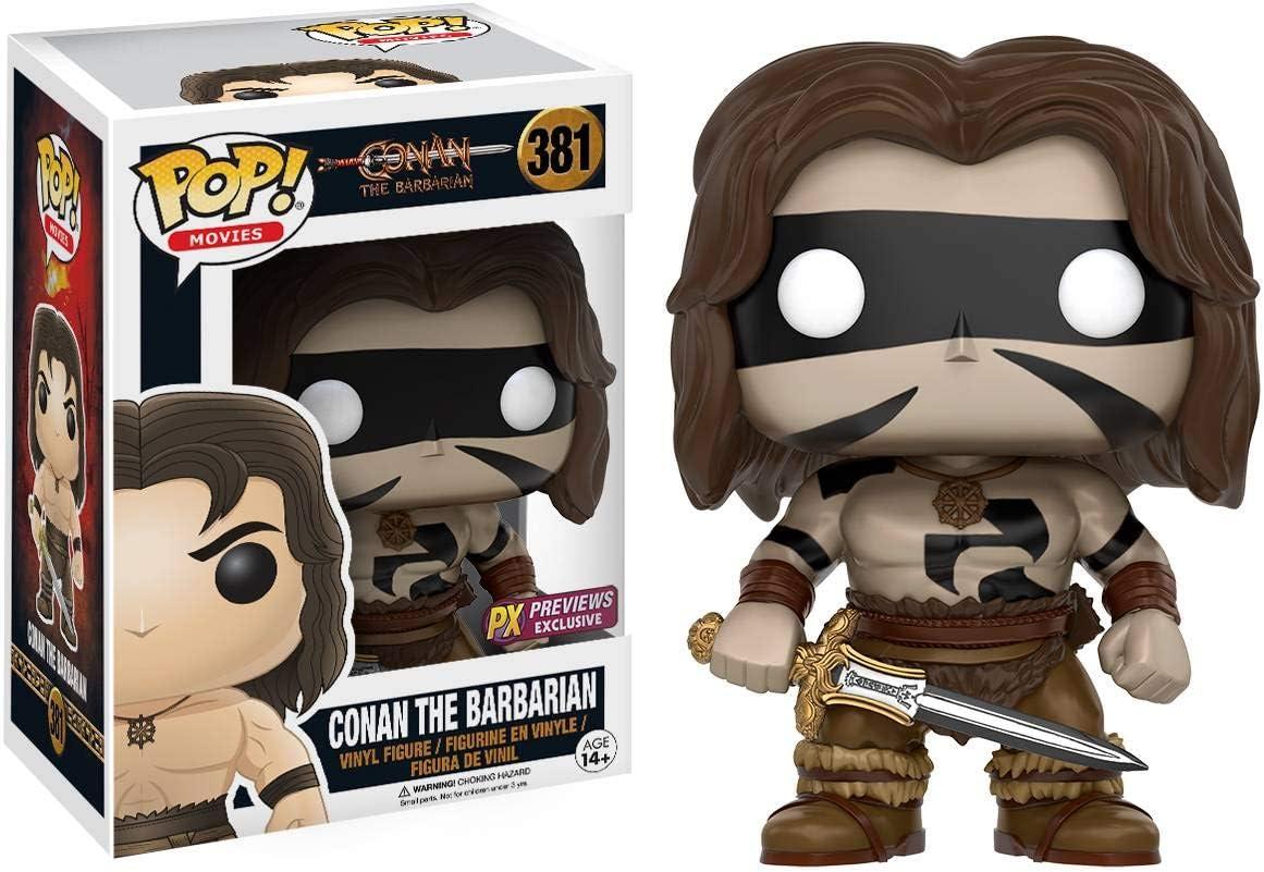 Funko Conan The Barbarian Pop! Vinilo Figura Conan Mask: Amazon.es ...