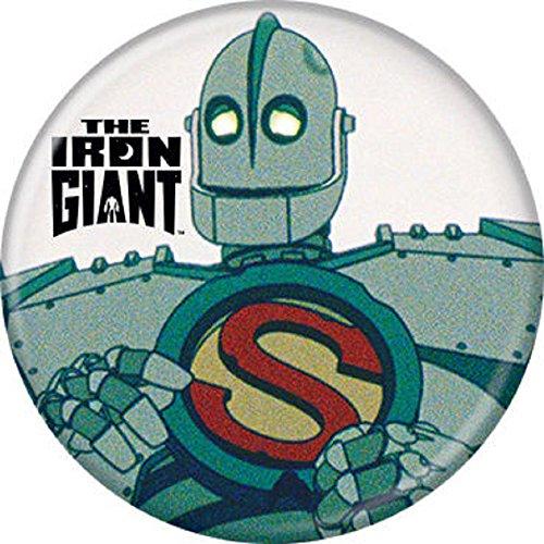 Symbol Pinback Button - Iron Giant S Symbol - Pinback Button 1.25