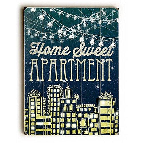 Home Sweet Apartment by Artist Jenndalyn - retro patriotic decor