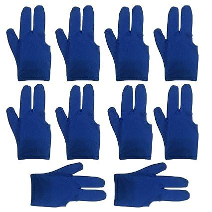 Amazon.com: lasenersm - Guantes de billar de 3 dedos ...