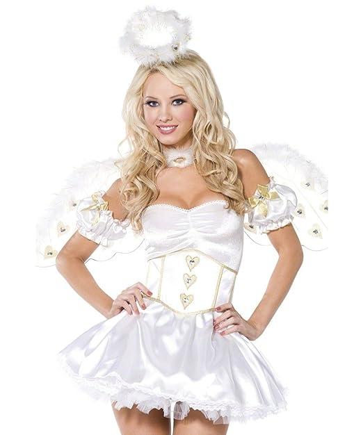 Amazon.com: Golden Heart Angel Adult Costume - Medium: Clothing
