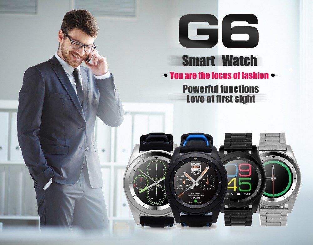 KKtick no. 1 G6 reloj inteligente deporte Bluetooth 4.0 ...