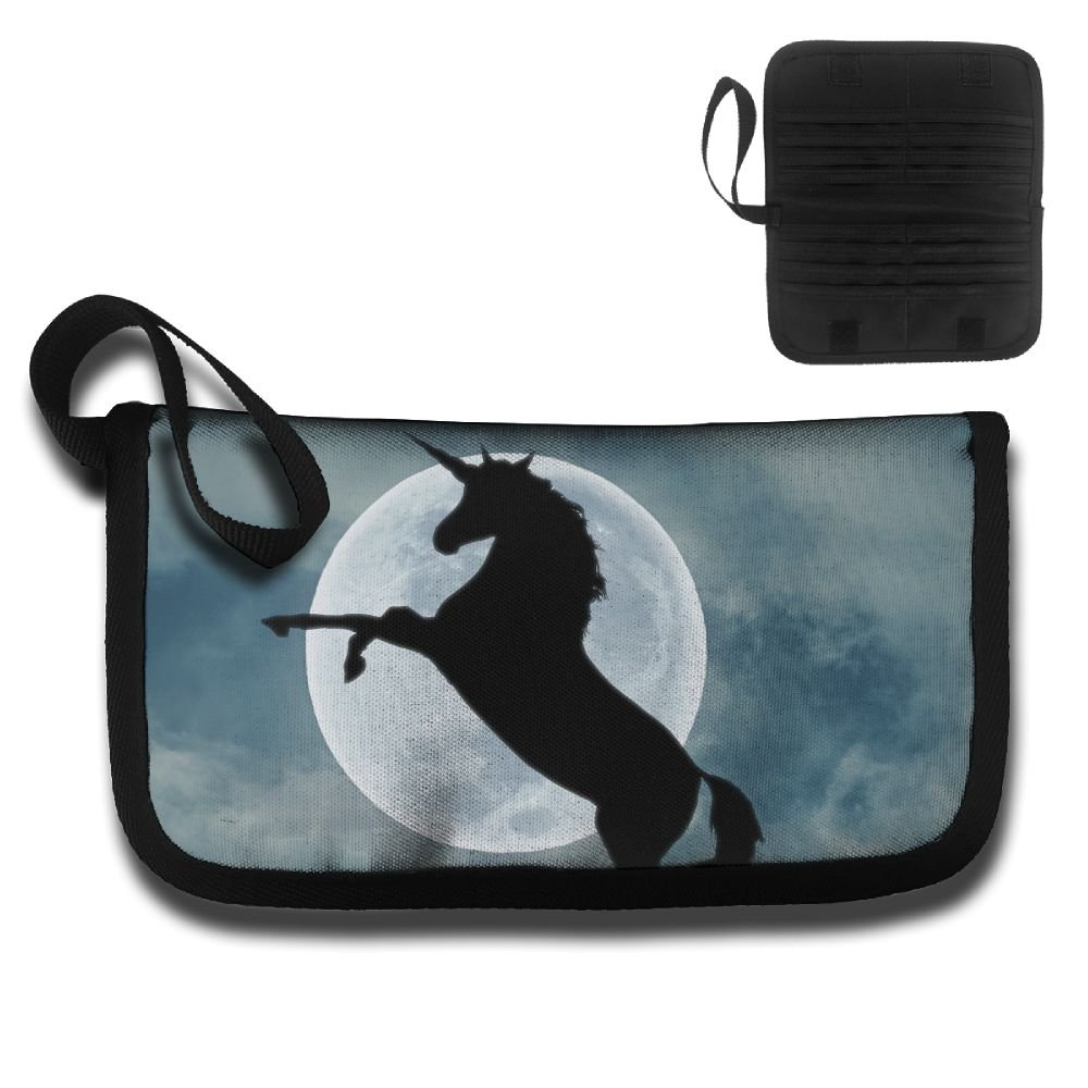 Gili The Moonlight And The Leaping Unicorn Travel Passport /& Document Organizer Zipper Case