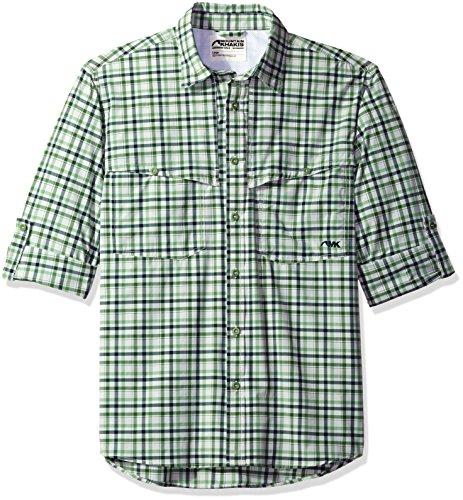 Mountain Khakis Men's Skiff Shirt, Clover Plaid, ()