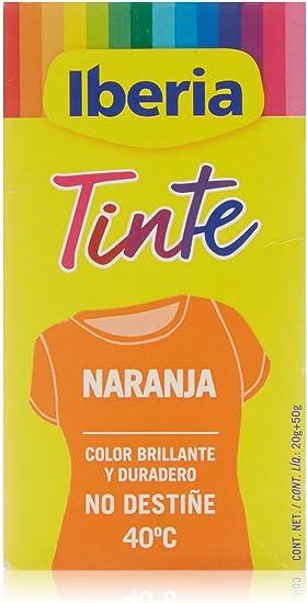 Iberia - Tinte Naranja para ropa, 40°C