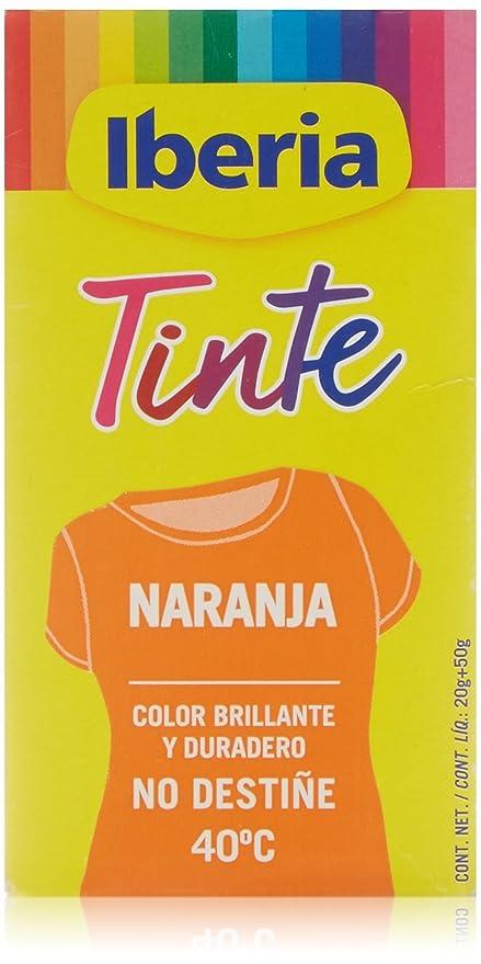 Iberia Tinte Naranja para Ropa - 70 gr