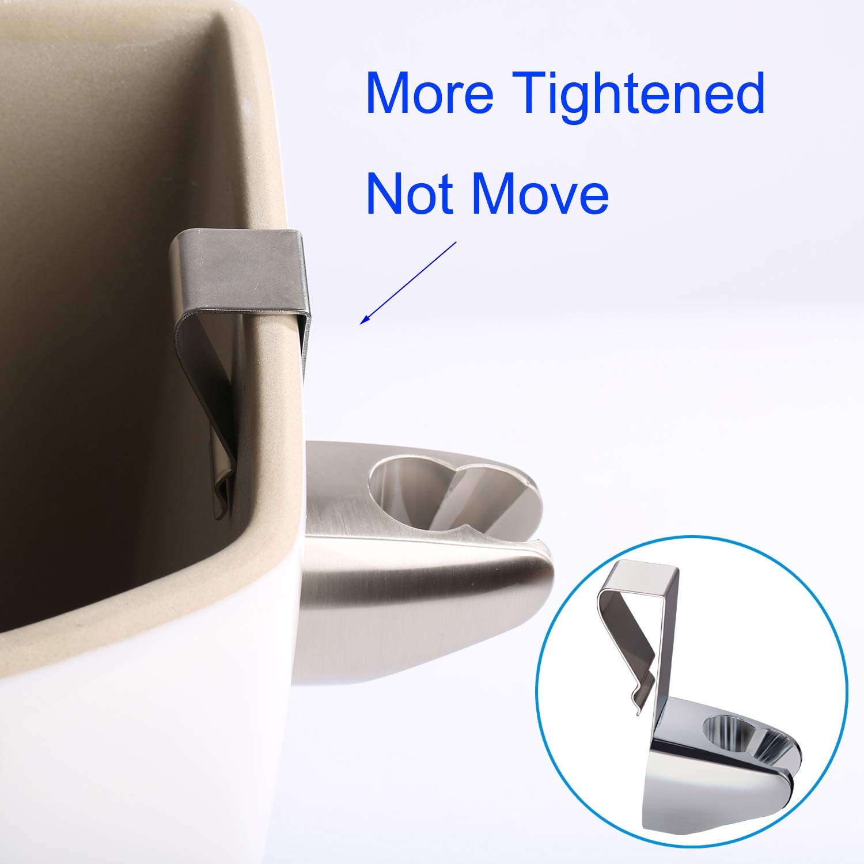 Halter wandhalterung und T-Adapter Bidet WC Brause f/ür Intimdusche-Chrome Bidet-Handbrause Komplett-Set Dual Function 2 Sprayer mit 1.5-meter Schlauch Stream//Jet