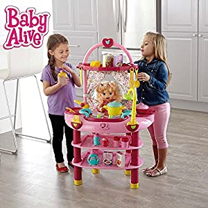 Amazon Com Baby Alive Cook N Care Set Toys Amp Games