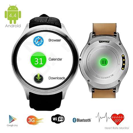 inDigi 3 G Smartwatch teléfono Android 4.4 WIFI GPS Google ...