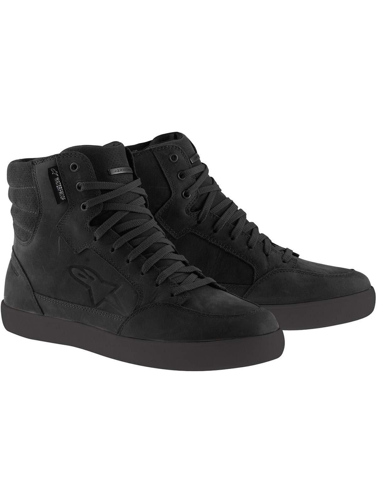 Alpinestars J-6 Waterproof Shoes-Black-12.5 (US)
