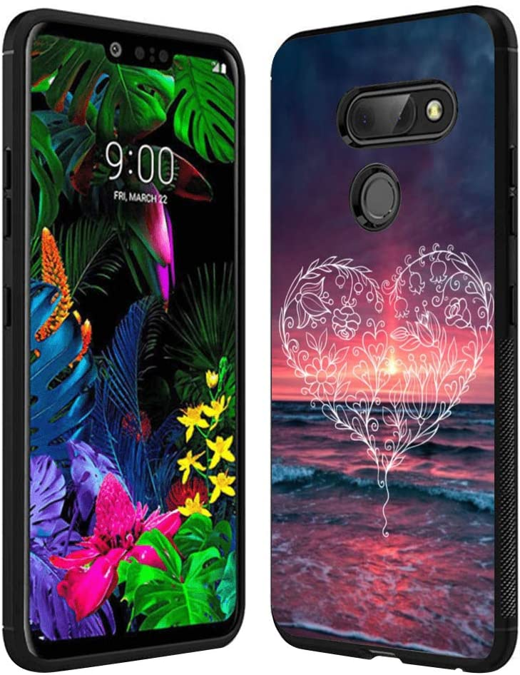 Heart Pattern Totem LG G8 ThinQ Case Creative Personality Case Phone Unique for LG G8 ThinQ