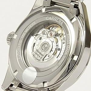 TAG Heuer Reloj Carrera Calibre 5 Day-Date 41 mm automático acero WAR201C.BA0723 6