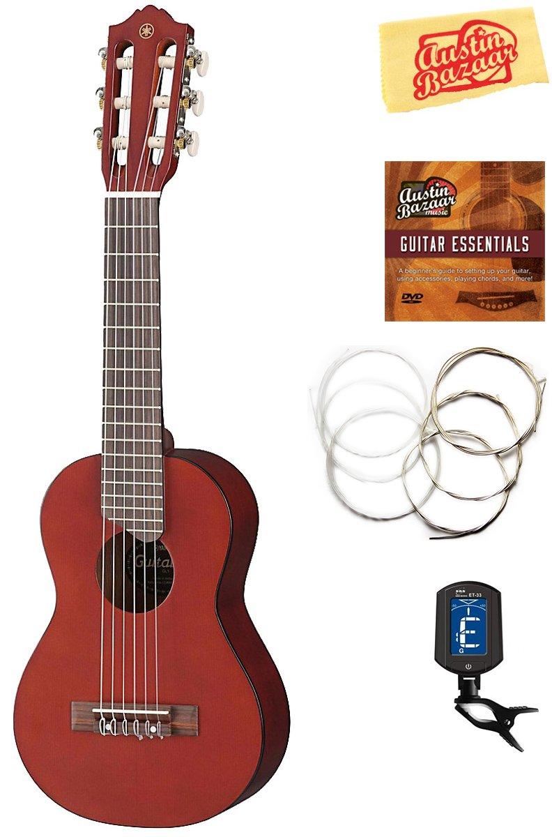 Amazon Yamaha Gl1 Guitalele Guitar Ukulele Natural Bundle