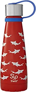 S'ip by S'well Shark Bite Water Bottle, 10oz