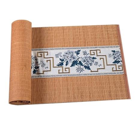 WGE Camino de Mesa Rectangular de bambú, Mantel de Estilo japonés ...