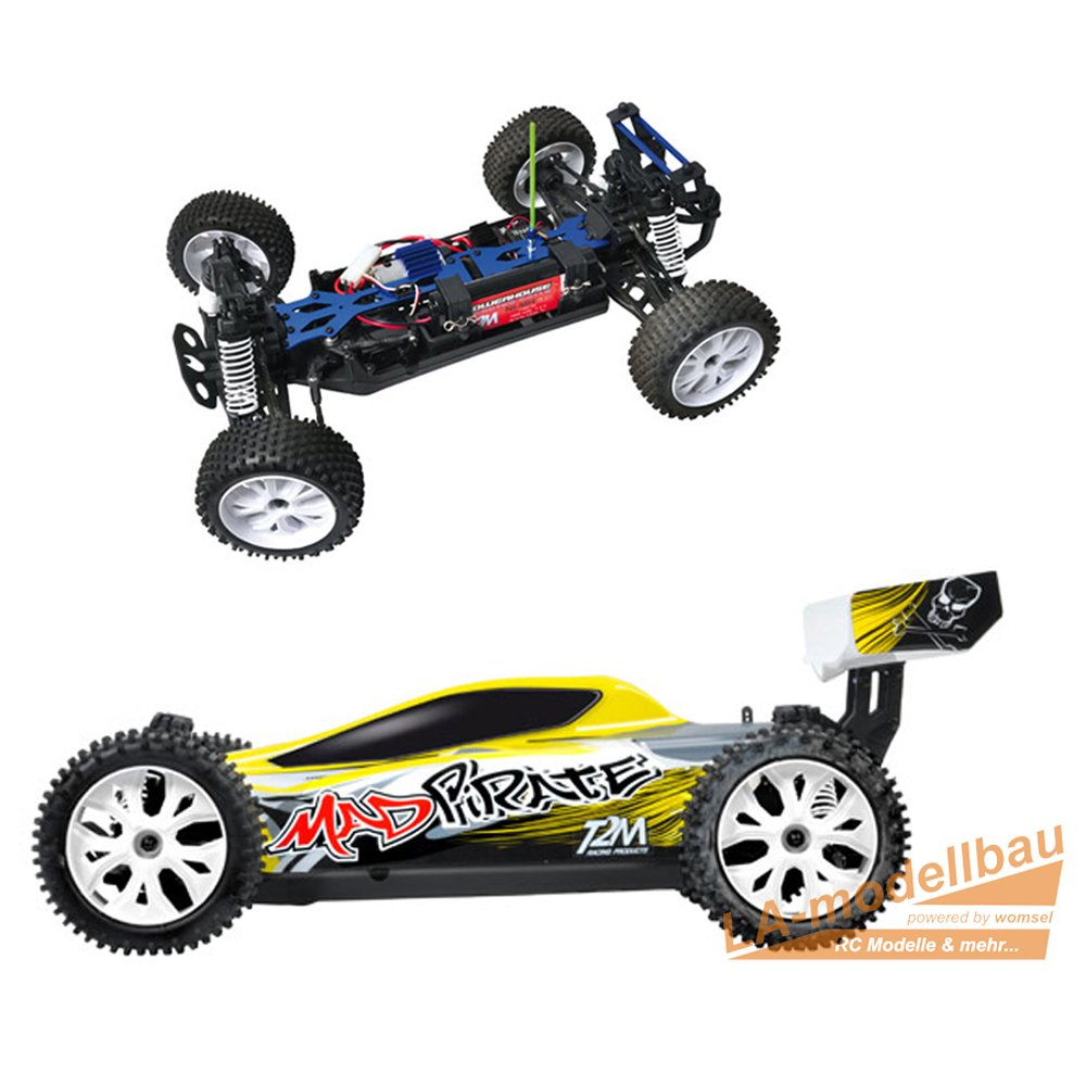 Radio Commande V/éhicule Rc Voiture Mad Pirate RTR 2,4 GHz T4908 T2M