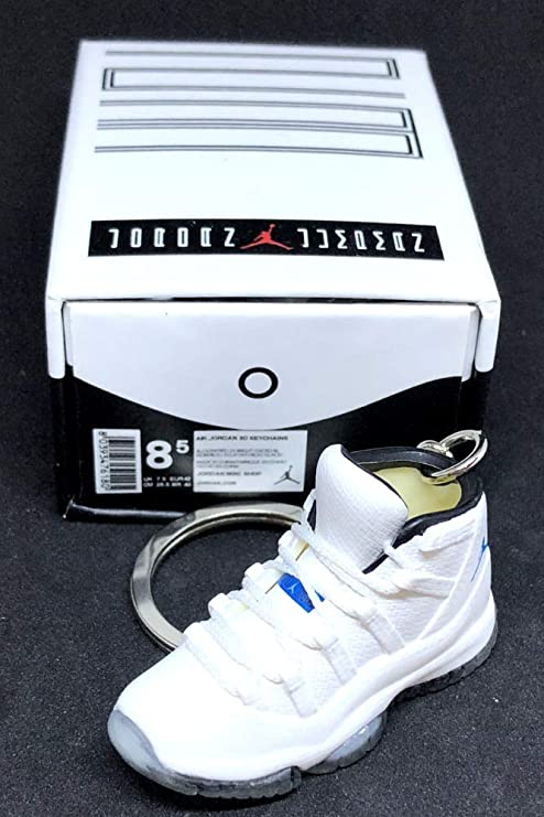 new concept ff1f1 4fdaa Amazon.com : Air Jordan XI 11 Retro High Columbia White ...