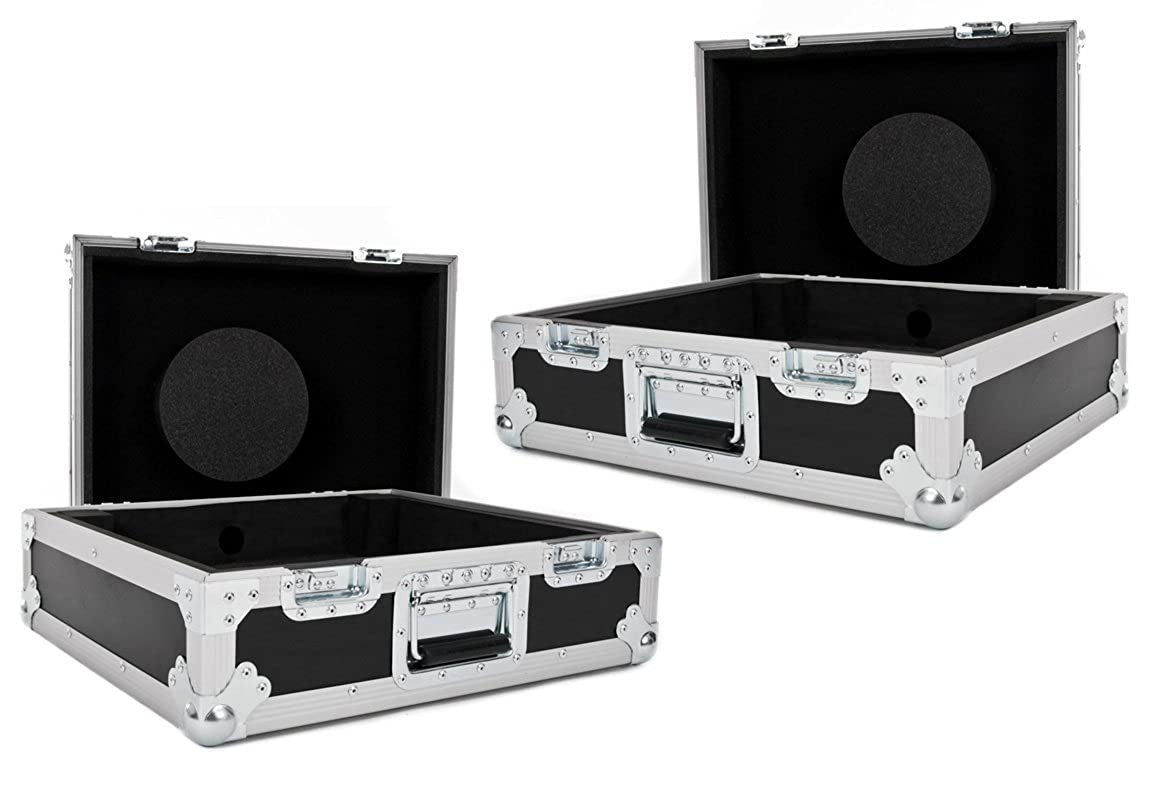NSP Cases 2 x - Vuelo casos - Paquete tratar de tocadiscos ...