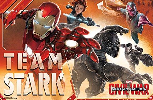Trends International Captain America 3 Team Stark Wall Poster 22.375