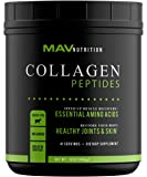 Premium Collagen Peptides (16oz) | Pasture-Raised, Grass-Fed, Paleo Friendly, 100% All Natural, Non-GMO and Gluten Free, Pure Hydrolyzed, Easy to Mix - Un-Flavored