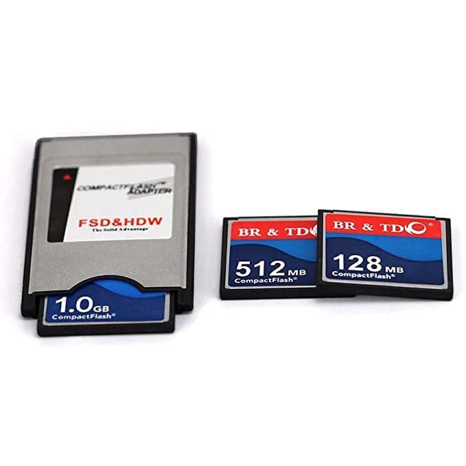 Amazon.com: JUZHUO Pcmcia - Adaptador de flash compacto CF ...