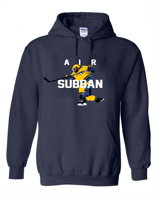 Air Subban Hooded Sweatshirt The Silo Navy Nashville P.K