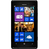 Amzer 95840 TPU Hybrid Case - Solid Black for Nokia Lumia 925